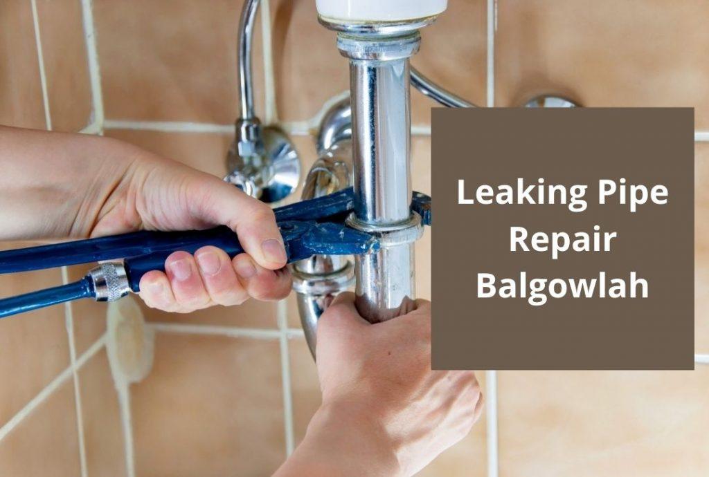 Leaking Pipe Repair Balgowlah