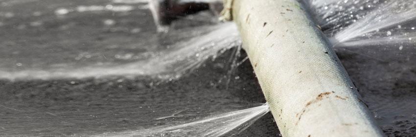 Burst Pipe Repair in Cromer